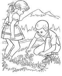Printable Coloring Pages Nature Scenes High Quality Coloring Pages
