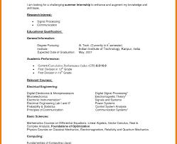 Resume Template Undergraduate Format High School New Student Cv ...