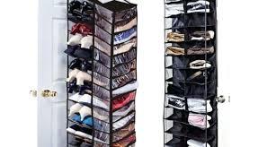 shoe organizers over the door over door hanging shoe rack pair storage organizer holder stand shoe