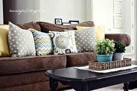 Decorative Pillows For Couch Brown