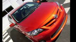 2013 Toyota Corolla S Hot Lava Special Edition for Sale at ...