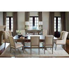 michaela french country wood upholstered on tufted dining side chair kathy kuo home