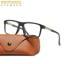 <b>KEITHION TR90</b> Men Casual Business Square <b>Eyeglass</b> Frame ...