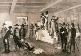 illustration on goree island in senegal slave trade pictures slave auction virginia 1861 black slave trade