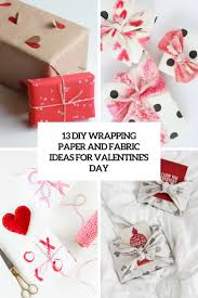 diy wrapping paper and fabric ideas for valentine s day cover