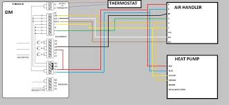 heat pump air handler wiring help doityourself com community thermostat setup options single stage heat pump 2 stage aux heat thermostat also needs to be setup for variable speed dehumidification on u2 relay