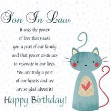 happy birthday son in law quotes images