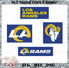 It lets you abiltiy to generate and export pngs and svgs of beautiful waves. Los Angeles Rams New 2020 Design Set Svg Files Nfl Football Cricut Silhouette Studio Digital Cut Files