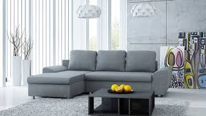 Ecksofa In Grau