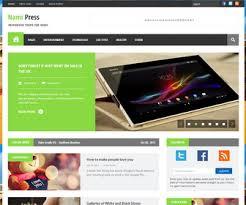 Nami Press Blogger Template Blogger Templates 2018