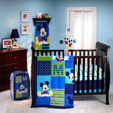 boys nursery bedding sets mickey mouse m is for mickey 4 piece crib bedding  set baby . boys nursery ...