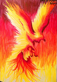 Phoenix Drawings Paint Brushes And Sewing Needles