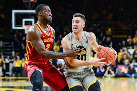 Iowa Basketball Hawkeyes Set To Take On Cyclones In Ames