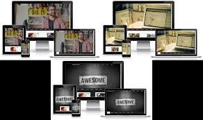 Business Portfolio Template Business Portfolio 3 In 1 Dark Static Blogger Template