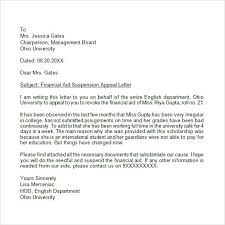 letter of appeal formal letter appeal sample fitted accordingly 9 format template