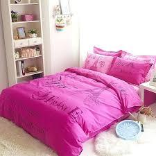 pink and romantic paris theme cotton kids duvet cover set girl duvet covers twin xl childrens