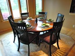 60 inch round wood pedestal dining table dining