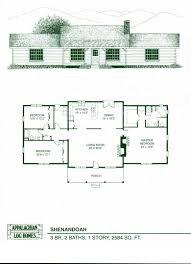 Northridge III Log Home And Log Cabin Floor Plan WANT  Log Open Log Home Floor Plans