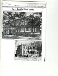 Charity Hospital And Training School For Nurses Georgia Historical