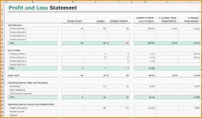 simple profit loss template profit loss forms free and form download basic template self