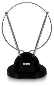 <b>Антенна телевизионная BBK DA02</b> пассивная черный