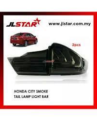 Honda City Tail Lamp Light Bar Smoke