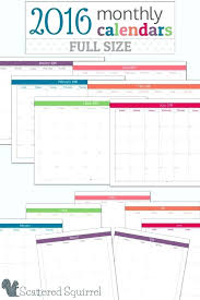 Template Monthly Calendar 2015 Template A Printable 4 Month Calendars Monthly Calendar Full