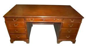 Image Steampunk Vintage Walnut Office Desk Olde Good Things Vintage Walnut Office Desk Olde Good Things