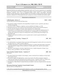 cover letter dietitian resume best templatenutritionist resume large size - Clinical  Dietitian Resume