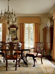 traditional dining room tables. Storied Charm   Atlanta Homes \u0026 Lifestyles (highboy In Dining Room For Storage). Traditional Tables A