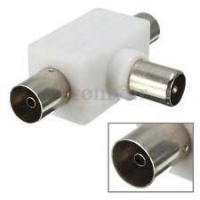 samsung tv antenna adapter. uk 2 way tv antenna splitter double adapter 1 male to females pal connector samsung tv n