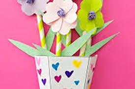 Paper Flower Making Video Paper Flower Vase Making Videos Flowers Healthy
