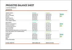 10 Best Download Free Balance Sheet Templates In Excel Images