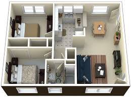 40 More 2 Bedroom Home Floor PlansApartments Floor Plans 2 Bedrooms