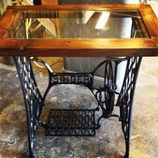 tops sewing machine tables painting