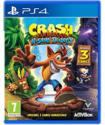 sony official games tower and charging station for ps4. crash bandicoot n. sane trilogy (ps4) sony official games tower and charging station for ps4 h