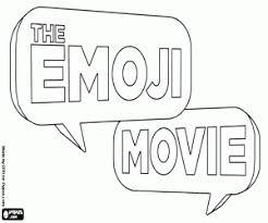 Kleurplaat De Emoji Film Het Originele Logo Kleurplaten