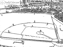 Small Picture Baseball Field Coloring Pages GetColoringPagescom