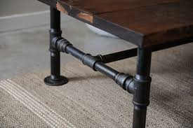 diy pipe coffee table diy rustic industrial tutorials