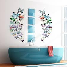 12pcs 3d butterfly wall sticker 6 colors fridge magnet bedroom wall art deco art decoration stickers on wall art bedroom stickers with 12pcs 3d butterfly wall sticker 6 colors fridge magnet bedroom wall