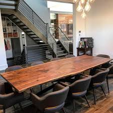 dining room table sets with bench. Live Edge Black Walnut Dining Table And Bench Room Sets With A