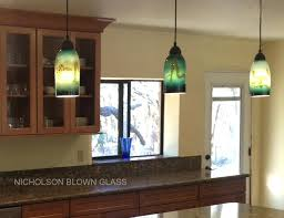 mercury glass kitchen pendants blown pendant lighting