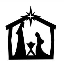 nativity silhouette clip art transparent. Delighful Transparent Black Nativity Scene Clipart  ClipartFest Throughout Nativity Silhouette Clip Art Transparent P