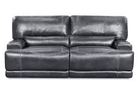 cannon leather power reclining sofa from gardner white furniture