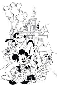 Coloring Pages Of Mickey Mouse Clubhouse Pdf Printable Coloring