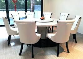 white and brown round dining table dark chairs pretty fascinating light wood dining table with dark