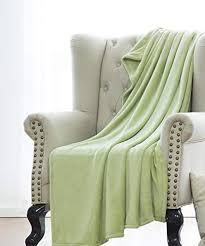 Sage Green Throw Blanket