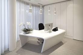 white office design. Modren Design EffectiveOfficeDesignWithBeautifulCurtainsAndWhiteInteriorIdeas Intended White Office Design S