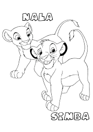 coloring pages lion king coloring 2 printable pages color to print and colouring