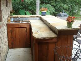 stone patio bar. Creative Patio / Outdoor Bar Ideas You Must Try At Your Backyard Stone S